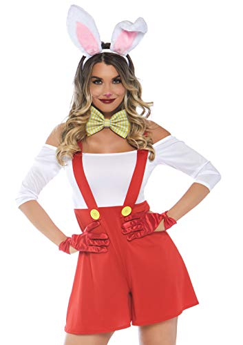 Female White Rabbit Costume (Leg Avenue Women's Costumes, Multi,)