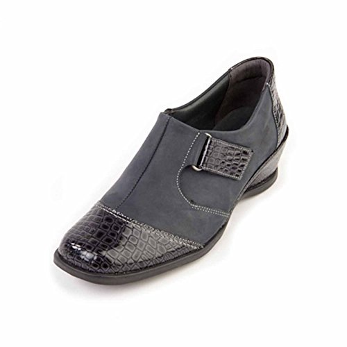 Suave Shantel Blue Ankle Boots, Trouser Shoes, Comfort, Casual Blue