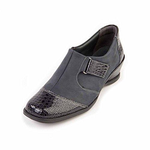 Comfort Shantel Suave Casuale Blu Caviglia Stivali Pantaloni Blu Scarpe fCwUYxq
