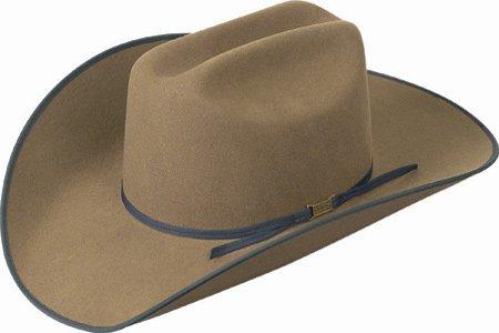 Eddy Bros. Barton Western Hat Black/Adobe 7 1/8