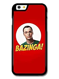 AMAF ? Accessories Big Bang Theory Bazinga Sheldon Cooper case for iPhone 6