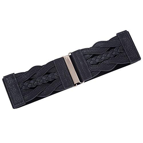 GRACE-KARIN-Women-Plus-Elastic-Stretchy-Retro-Wide-Waist-Cinch-Belt