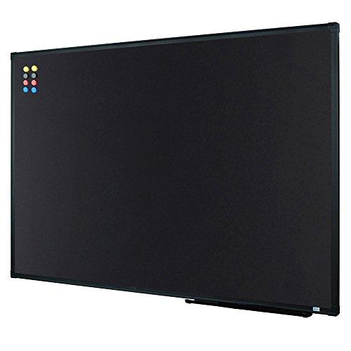 (Lockways Magnetic Chalkboard Black Board - 36 X 24 Inch Magnetic Bulletin Blackboard 3 x 2, Black Aluminium Frame U10732782603 for Home, School & Office (Set Including Aluminum Pentray & 8 Magnets))