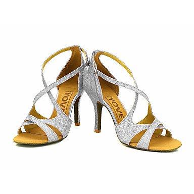 XIAMUO Anpassbare Frauen Beruf Tanz Schuhe, Rot, Us8.5/EU39/UK6.5/CN 40