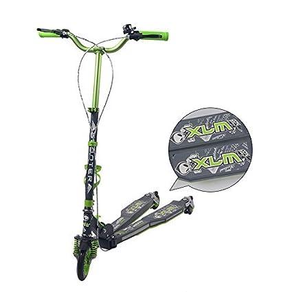 XLM® 3 en 1, para adultos plegable de 3 ruedas 2 formas de ...