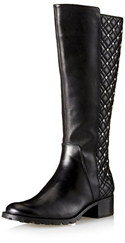 High Boot Links Vittadini Women's Adrienne Black Calf Knee Soft Oqw7UWTx