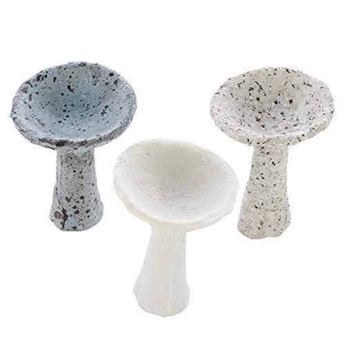 (Factory Direct Craft Miniature Faux Stone Birdbath | 3)