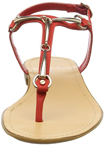 para Tantra Sandalias Red with Mujer Sandals Buckle qrIZq
