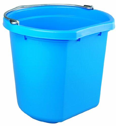 Fortex FB120 20-Quart Flat-Side Wall Bucket