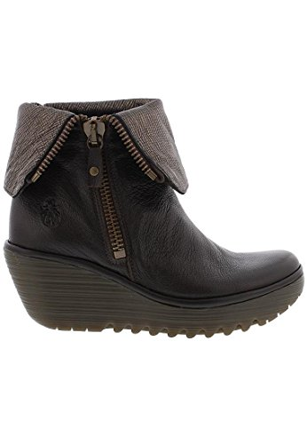 Fly Bottines Londres Bottines Yex668fly Brun Blanc Yex668fly Femmes Fly Londres Femmes rrqdxawU