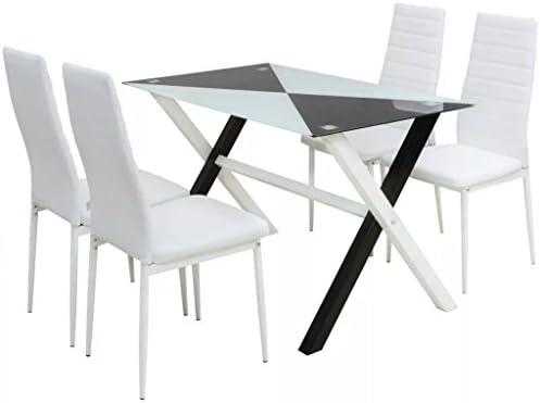 Tidyard Muebles de Jardin Exterior Conjuntos Conjunto mesas y ...
