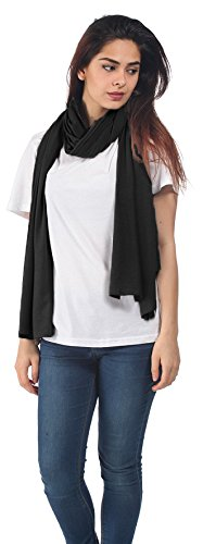 Discreet Nursing Cover And Scarf In One BambooMama Bamboo Breastfeeding Scarf Black The Ideal Gift For A New Mother