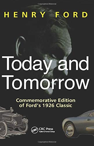Today and Tomorrow - Special Edition of Ford's 1926 Classic