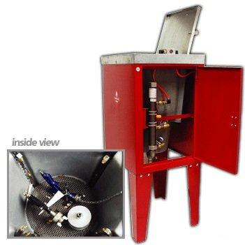 AES Industries 39770 Pneumatic Spray Gun Washer (2 Gun Capacity)