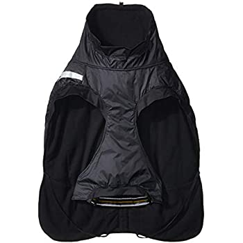 Hurtta Summit Parka Dog Winter Coat, Raven, 24 in