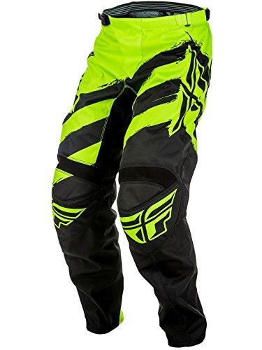 Fly Racing Men's Pants (Black/Hi-Vis, Size 38)