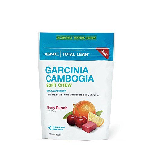 GNC Total Lean Garcinia Cambogia- Berry Punch (Gnc Go Lean)