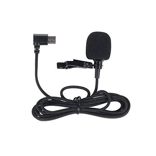 SJCAM SJ8 Series Accessories Sports Action Camera Clip-on Microphone Mic for SJCAM SJ8 AIR/ SJ8 Plus/ SJ8 PRO Action Cameras