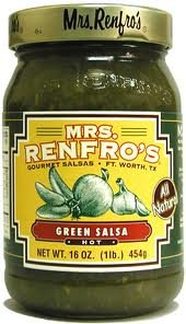 MRS RENFRO SALSA GREEN HOT, 16 OZ, PK- 6 by Mrs Renfro (Image #1)