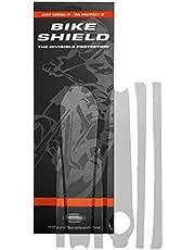 Bike Shield Ochrona ramienia korby unisex, przezroczysta, błyszcząca