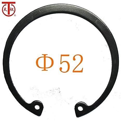 52 Internal circlips RTW Inner Diameter: 52-304 GB893 Internal Retaining Ring 10 Pieces//lot - Ochoos