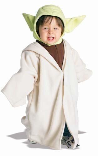 Star Wars Yoda Fleece Costume Toddler 24 Mo