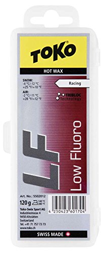 Toko LF Tribloc Ski Wax, Red, 120gm