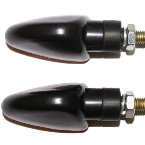 Ryde Short Stem Bulb Motorcycle Indicators Black