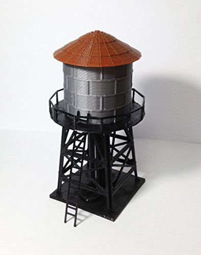 Outland Models Train Railway Layout Trackside Water Tower HO Scale 1:87 ()