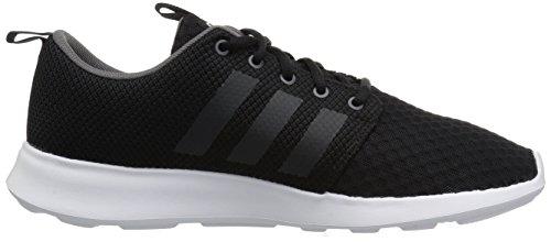 Adidas Heren Cf Snelle Racer Hardloopschoen Kern Zwart, Carbon S, Grijs Vijf Stof