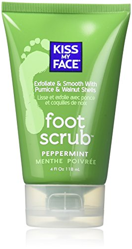 - Kiss My Face Luxurious Organic Foot Scrub - Peppermint - 4 oz