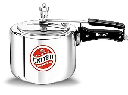 United Aluminium Pressure Cooker 2 L, Silver
