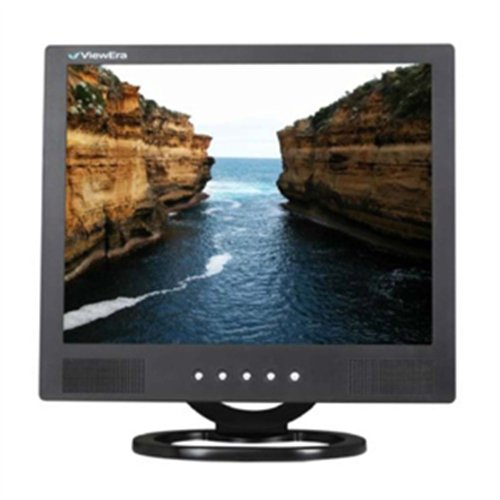 "Viewera V151HV-B LCD Video Monitor, Black, 15"" Diagonal S..."