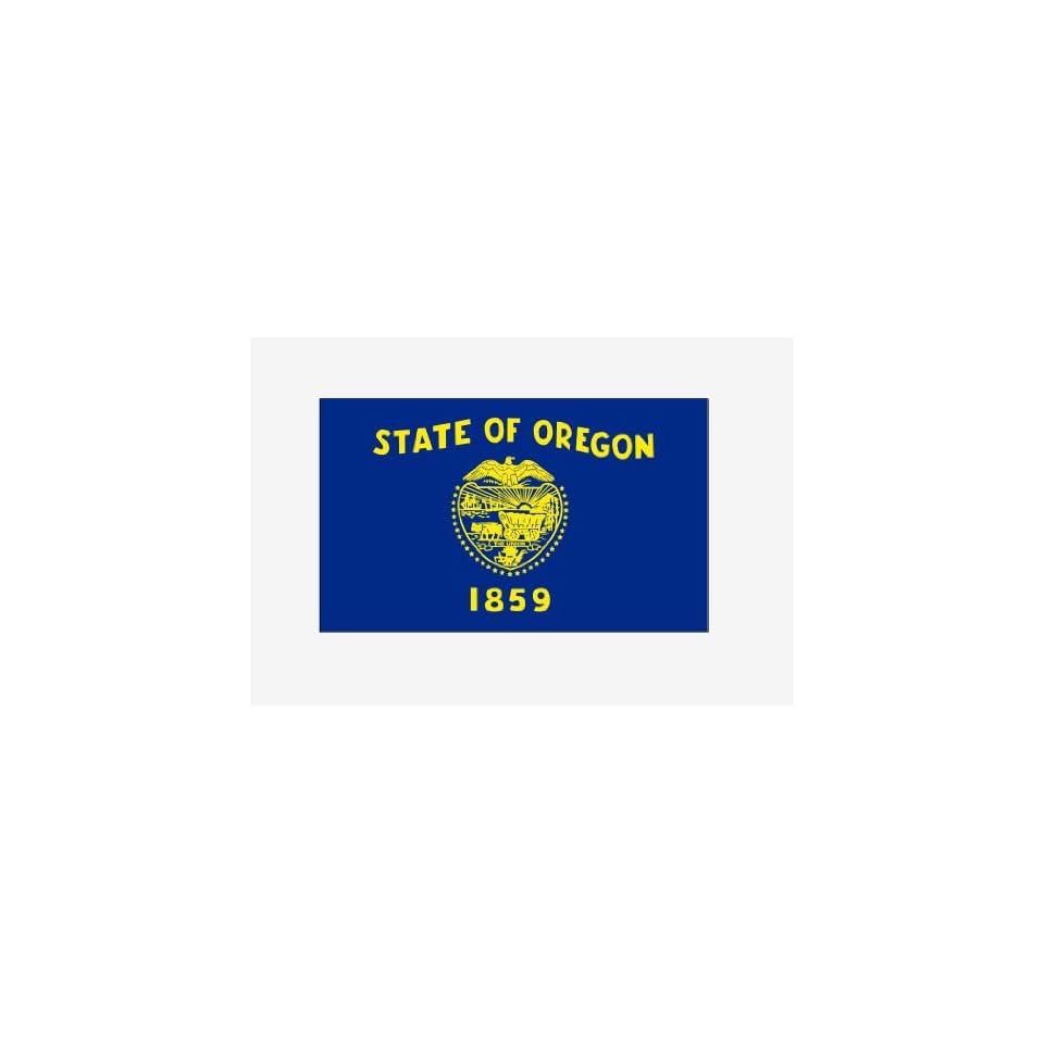 Oregon state flag Sticker Vinyl Decal 5 wide
