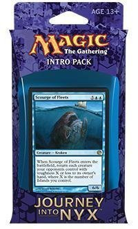 Magic the Gathering (MTG) Journey Into Nyx Intro Pack / Theme Deck - Fates Foreseen - Blue (Includes 2 Booster Packs) ()