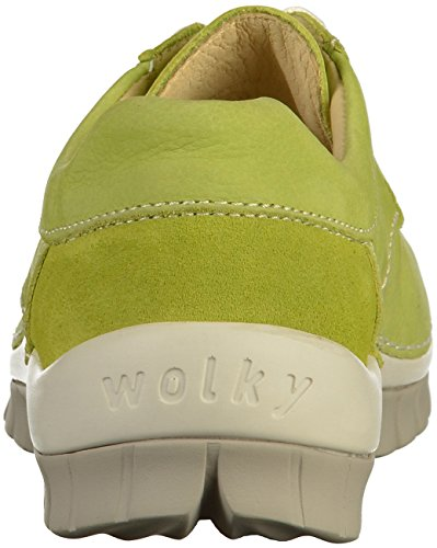 para Hell 4708 grün de Wolky Cordones 175 Mujer Zapatos Hvf16zwq
