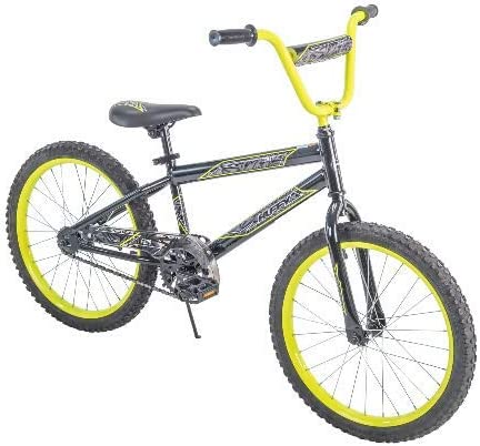 Huffy.. Rock IT 20 Boys Bike Black with Neon Yellow
