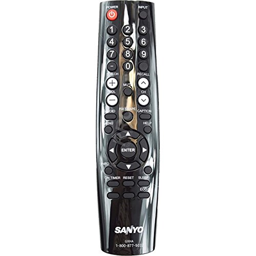 NEW Sanyo LCD LED TV Remote Control GXHA Supplied with models: FVD5833 DP50843 DP58D33 (Tv Lcd Sanyo)