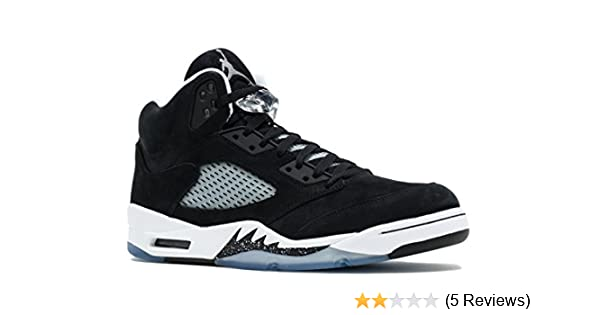 3f5fe9c921b Amazon.com | Jordan Air 5 Retro Oreo Men's Shoes Black/Cool Grey-White  136027-035 | Basketball