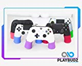 Playbudz PS4 Controller Grip Extenders - Compatible With (PS4, XBOX, OCULUS RIFT S, XBOX 360, XBOX ONE, NINTENDO SWITCH PRO, SCUFF,) Controller