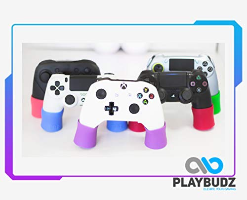 Playbudz Grip Extenders (Playstation) - Compatible With (PS4, XB1, Xbox 360