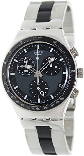 Swatch Men's YCS410GX Windfall Chronograph Silver-Tone Bracelet Watch by Swatch