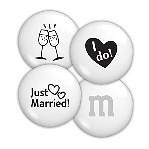 All Color M&M'S Bulk Candy Bag (Just Married, 5 LB) by First Choice Candy