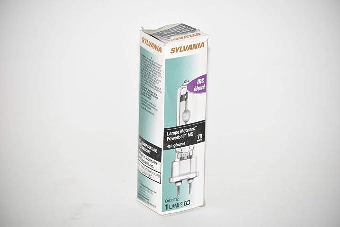 2 Cases of 6 sylvania mcp70par38ufl830ecopb 70w metalarc powerball 64750-1