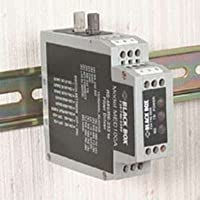 Black Box MED100A DIN Rail RS-232/RS-485 to Fiber Driver