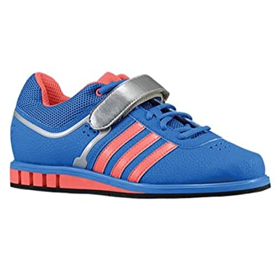 Adidas Women s Powerlift 2.0 Blue red silver 6  Amazon.in  Shoes   Handbags 9d5d9713df