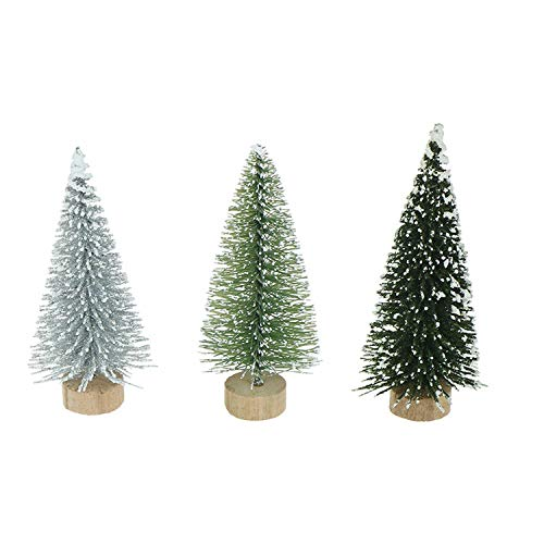 DIY Mini Christmas Tree Small Pine Tree Placed in TheChristmas Party Decoration Kids Gifts,B1