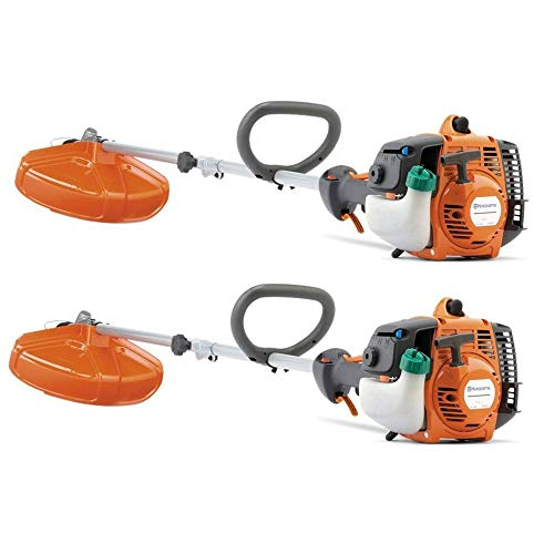 Husqvarna 128LD 28cc 2 Stroke Gas String Line Trimmer (Certified Refurbished) (2 Pack)