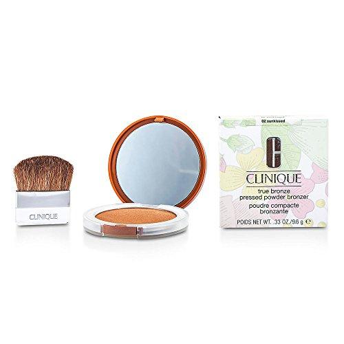CLINIQUE by Clinique True Bronze Pressed Powder Bronzer - No. 02 Sunkissed -. (Package of 3)