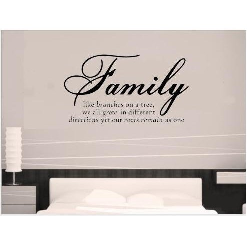TRURENDI Fashion DIY Family Tree Together Love Wall Vinyl Sticker Decal Quote Decor Art Wall Paper